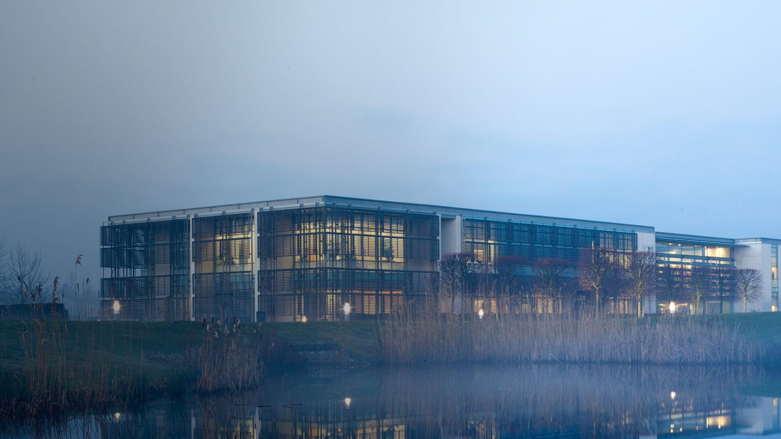 Rolls-Royce Motor Car's state-of-the-art manufacturing facility and headquarters in Goodwood